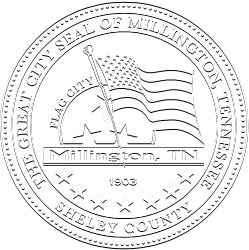 The Great City Seal of Millington TN
