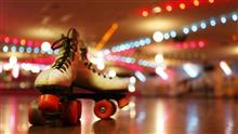 skates and lights