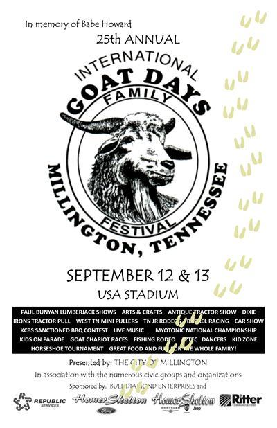 26th annual international goat days festival sept  11-12  2015